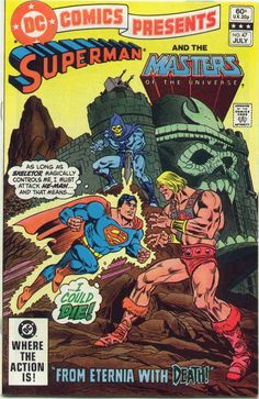 DC Comics Presents #47 Superman vs. He-Man!