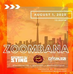 TOMORROW is #Zoombana by #Feteocracy   #everyBODYplayahmas #quarantinefete  #torontosocascene  #torontocarnival2020 #costumes #zoomparty #virtualcarnival #torontocarnivalfete #caribbeanparty #saucy #pipeman #covidcyahstopwe #feteocracy #bacchanal #bringdevibes #putyuhbackinitchallenge Caribbean Party, Carnival, Bring It On, Costumes, Dress Up Clothes, Carnivals, Costume, Carnival Holiday, Suits