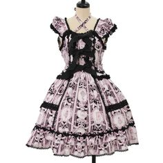 ♡ BABY THE STARS SHINE BRIGHT ♡ Marie Antoinette jumper skirt http://www.wunderwelt.jp/products/detail8447.html ☆ ·.. · ° ☆ How to buy ☆ ·.. · ° ☆ http://www.wunderwelt.jp/user_data/shoppingguide-eng ☆ ·.. · ☆ Japanese Vintage Lolita clothing shop Wunderwelt ☆ ·.. · ☆