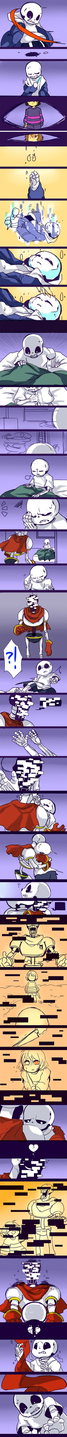 undertale-first por kuzukago Undertale Undertale, Undertale Pictures, Sad Comics, Toby Fox, Underswap, Vocaloid, Daddy, Fandoms, Bad Timing