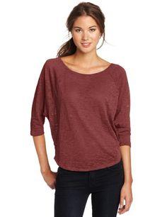 Roxy Juniors Byways Raglan Sleeve Shirt