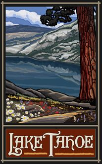 Lake Tahoe Trails - Northwest Art Mall