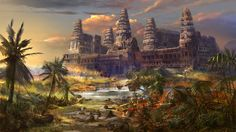 dragon castle by boosoohoo on DeviantArt