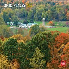 Ohio Places Wall Calendar: Ohio maintains a terrific balance between rural scenery and big city sights. Cincinnati, Cleveland and Columbus serve up a rich mix of history, the arts, and fine dining, while friendly, small towns and handsome farms offer a more relaxed, neighborly atmosphere.  $14.99  http://calendars.com/Ohio/Ohio-Places-2013-Wall-Calendar/prod201300004833/?categoryId=cat00884=cat00884#