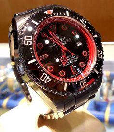 "Men's Rolex ""Sea Dweller Deep Sea"" Custom PVD V s N 2009 2010 43mm | eBay"