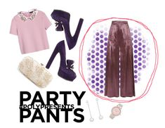 #PolyPresents: Fancy Pants by marrrriyam on Polyvore featuring polyvore, fashion, style, Max&Co., Temperley London, Casadei, Oscar de la Renta, Michael Kors, Viola .Y, clothing, contestentry and polyPresents