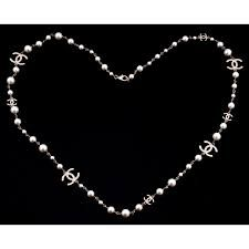Image result for chanel pearl necklace Chanel Pearl Necklace, Chanel Pearls, Chanel Jewelry, Silver Diamonds, Gold, Image, Necklaces, Unique, Check