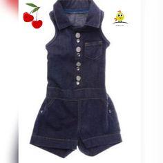 Uma graça esse macaquinho jeans tamanho 2 e 3 da Malwee. So R$ 49,90.  Final de estoque! Corra e reserve o seu ! www.repipiu.com.br