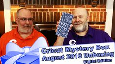 Video: Cricut Mystery Box - August 2016 Digital Box Unboxing - http://www.craftsbytwo.com/video-cricut-mystery-box-august-2016-digital-box-unboxing/  It's a very special second Cricut Mystery Box for July. George wants to say it's his birthday, but it's the first DIGITAL Mystery Box from Cricut! All new, never before seen, images and fonts exclusive to this box! Join us for the reveal and all the info!  Remember, you can always scroll down on out blog for a list of the co