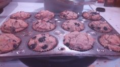 Blueberry Muffin (Gluten Free, Nut Free, Dairy Free, Low Carb) - Living Healthy With Chocolate