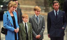 Watch as Prince Harry accompanies brother Prince William on first day at Eton College. Princess Diana and Prince Charles were also present Lady Diana Spencer, Diana Son, Royal Princess, Prince And Princess, Princess Of Wales, Uk Prince, Prinz Charles, Prinz William, Charles Charles