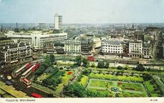 Piccadilly gardens before renovation
