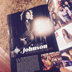 Stoked and honored to be in this months issue of @peoplemag go get your copy today ! @americanidol magazine #farwellseason #americanidol #calebjohnson #magazine #rocknroll #newmusic #newrecord