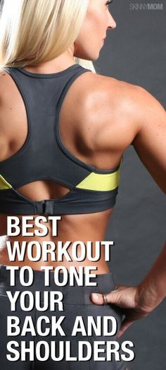 Sculpt a beautiful back and shoulders with this upper body workout!
