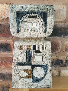 Fabulous Genuine & Authentic Troika Double Base Vase by Ann Lewis Pottery Ideas, Pottery Art, Cornwall, Ann, British, Mid Century, Clay, Ceramics, Pretty