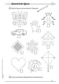 geometrie symmetrie kooperatives lernen matheunterricht pinterest. Black Bedroom Furniture Sets. Home Design Ideas