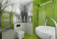 Aranżacje wnętrz. Łazienka w odważnej kolorystyce; architekt radzi, wnętrza, projekty wnętrz, łazienka, łazienki; Wiadomości - Serwis DOM i NIERUCHOMOŚCI