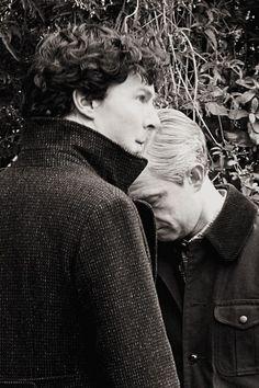 Sherlock and John Sherlock Holmes John Watson, Sherlock Holmes 3, Benedict Sherlock, Sherlock Fandom, Benedict Cumberbatch Sherlock, Sherlock John, Johnlock, Princess Diana Hair, Fanfiction
