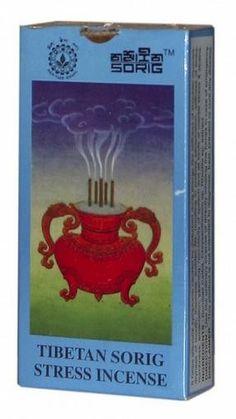 Stressz ellenes Loongpoe Füstölő (24 darab) Kód:304 Tibeti gyógynövénytermékek a Dalai Láma Orvosi Intézetéből