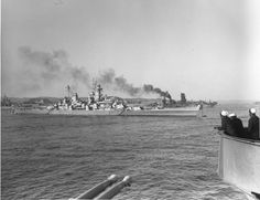 USS New Jersey and IJN Nagato in the SAME photo? 30 December 1945 [2600x2003]