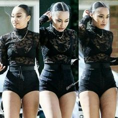 Leigh-Anne at the Woman Like Me Music Video Set 🌷 Music Mix, My Music, Little Mix Style, Jesy Nelson, Perrie Edwards, Fifth Harmony, Girl Bands, Nicki Minaj, Cool Girl