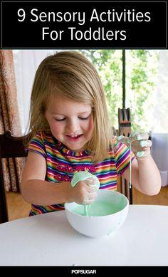 9 activities to get kids feeling, seeing, and hearing
