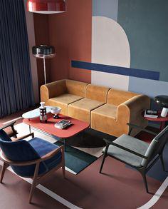 19 meilleures images du tableau canapé marron deco | Brown couch ...