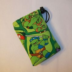 Padded Pipe Pouch Glass Pipe Case Pipe Bag Ninja by PouchAPalooza