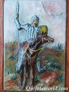 Cuadros artesanales quijote para la decoración: 1ª pág - Quijoteworld, ideas para decorar