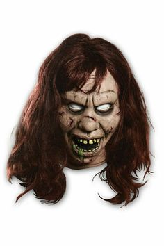 the exorcist regan mask horror movies exorcist halloween mask - Halloween The Beginning Full Movie