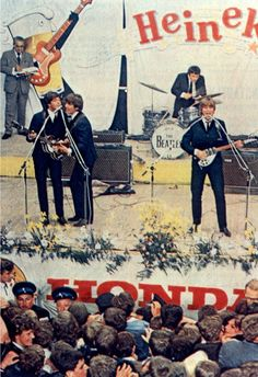 The Beatles concert in Blokker, the Netherlands, 5 June 1964.