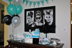 Audrey Hepburn Bridal/Wedding Shower Party Ideas   Photo 1 of 39   Catch My Party