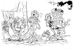 Astérix et les Vikings - générique