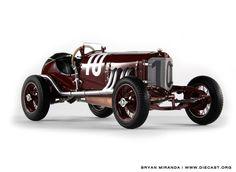 1924 Mercedes-Benz Targa Florio Diecast Scale Model by CMC