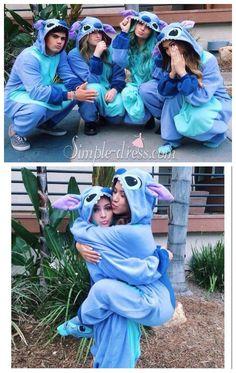 pajamas~stitch pajamas~animal cosplay costume