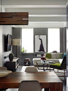 Vivir Diseño de habitaciones con mesa de comedor