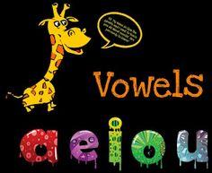 computer/smartboard lesson on vowels!