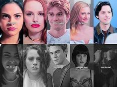 Riverdale: Veronica, Cheryl, Archie, Betty and Jughead Kj Apa Riverdale, Riverdale Quotes, Riverdale Funny, Riverdale Netflix, Riverdale Cheryl, Riverdale Archie And Betty, Riverdale Kevin, Riverdale Comics, Riverdale Poster