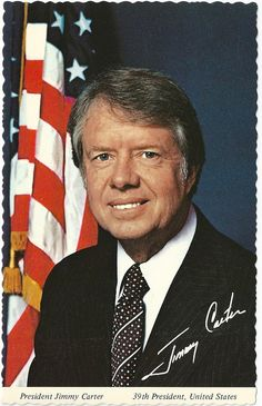 Jimmy Carter, the 39th President of the United States, was a peanut farmer from Georgia before he was President.