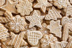 These festive recipes are perfect for the holiday season. They are delicious and easy to make and they will get everyone into a festive mood! Don't miss out on these delicious festive recipes. Easy Baking Recipes, Sweets Recipes, Healthy Baking, Christmas Baking, Christmas Cookies, No Bake Snacks, Delicious Cake Recipes, Pavlova, Food Festival
