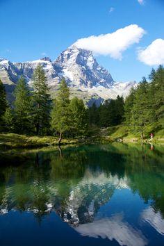 Breuil - Cervinia, Valle d'Aosta, Valle d'Aosta region Italy