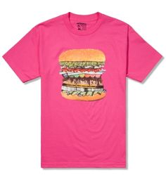 Odd Future Hot Pink Drug Burger T-Shirt