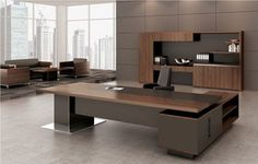 High gloss ceo office furniture luxury office table executive desk