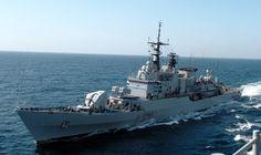 Italian frigate ITS Maestrale (F570)