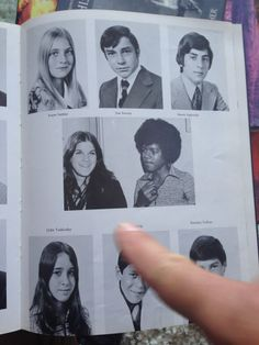 MJ in his year book.
