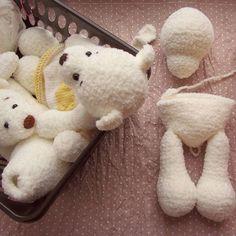 Crochet bear, crochet amigurumi bear , polar bear, white bear Вязаный мишка, амигуруми мишка