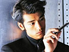Actor Takeshi Kaneshiro is exquisite. He's of Japanese and Taiwanese ancestry, I think he's very beautiful and lots of women al. Pagan Poetry, Asian Male Model, Male Models, Takeshi Kaneshiro, Lost In Thought, Above The Clouds, Thai Drama, British Men, Japanese Men