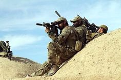 SF in Afghanistan - observation post