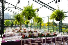 Event in a lovely, large greenhouse by MELI Parties!