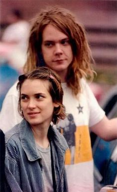 Winona on tour with Dave and Soul Asylum, circa mid'90s(best guess)